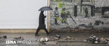 رعد و برق در جنوب کشور ، رگبار باران در شمال